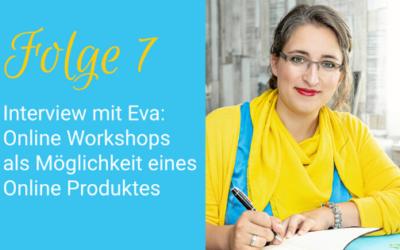Online Workshop als Möglichkeit eines Online Produktes